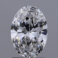 Oval Brilliant Cut 1.09ct D VS1 HPHT IGI Certified Lab Grown Diamond TYPE2 447089620