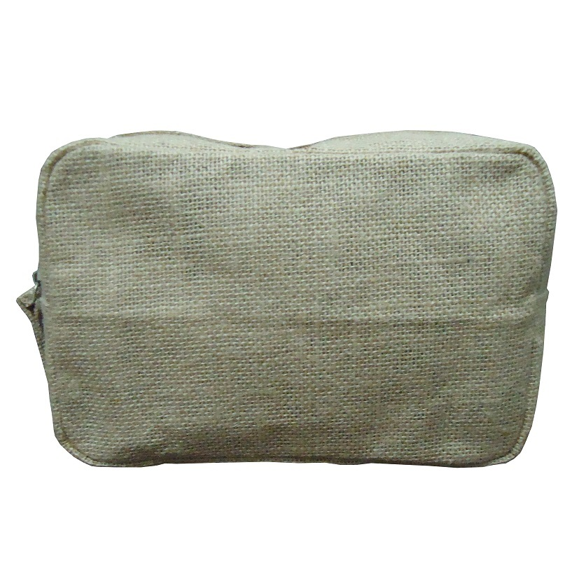 Pp Laminated Jute Travel Pouch