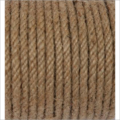 5 MM 4 Strand Hand Twisted Jute Rope