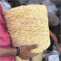 Yellow White Yarn