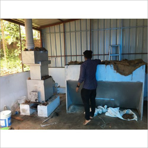 Coconut Dryer and Cutting Machine