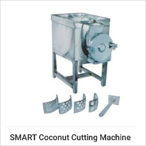 Copra Coconut Cutter Machine