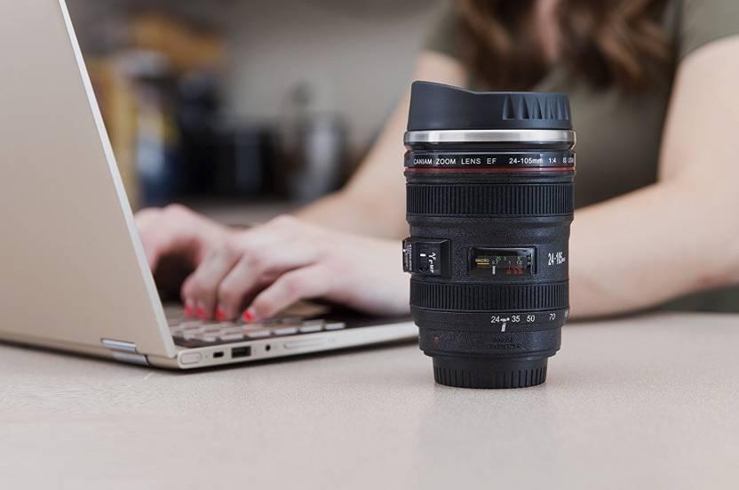 Camera Lens Mug Stainless Steel Tea - Coffee Mug
