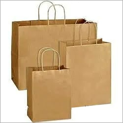 Brown Paper Bags With Handle