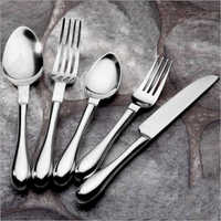 SS Spoon And Fork With Knife