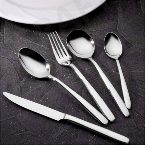 Spoon And Fork With Knife