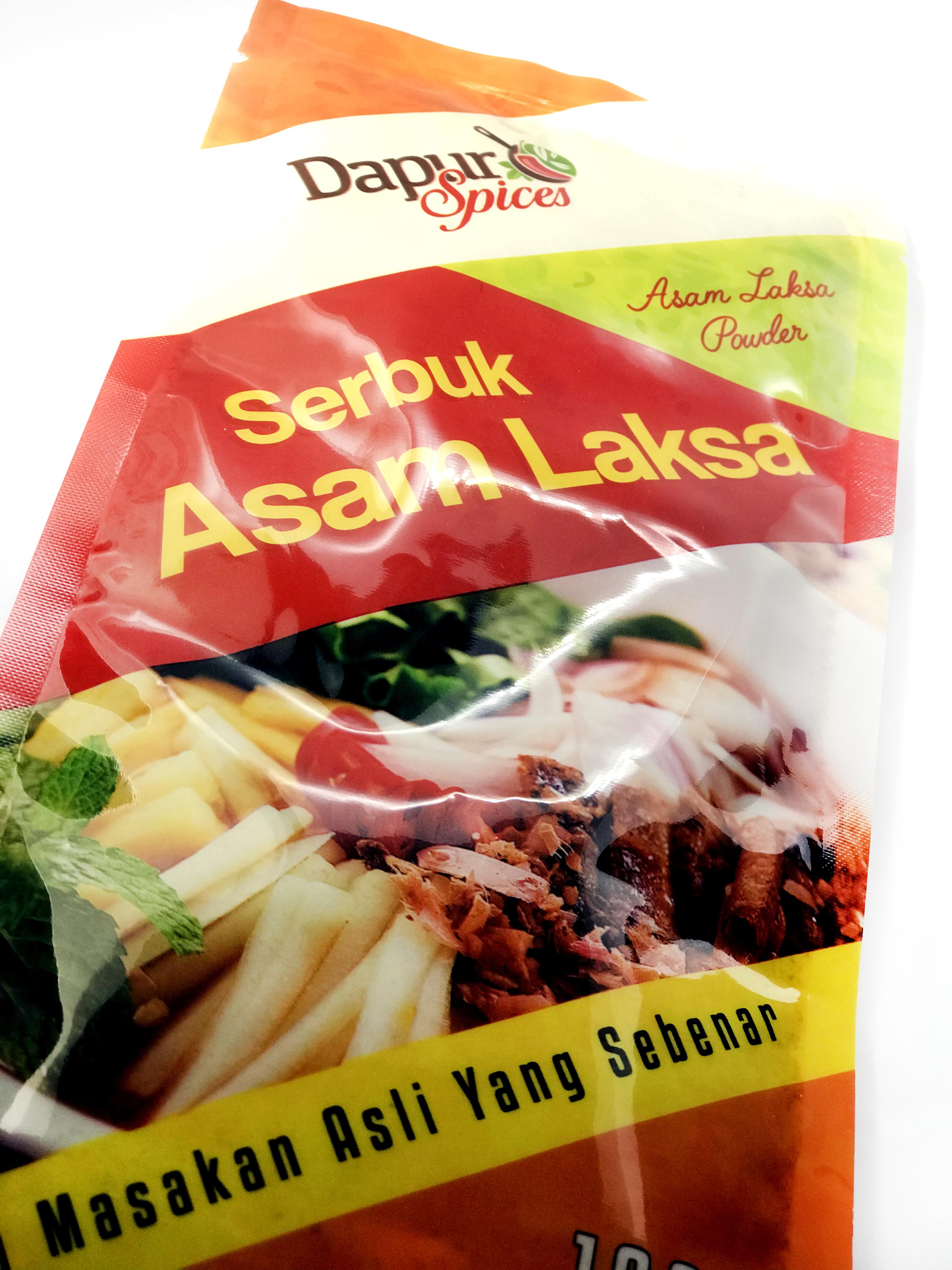 Premix Spices Asam Laksa Powder