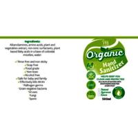 Organic Sanitizer, 500ml