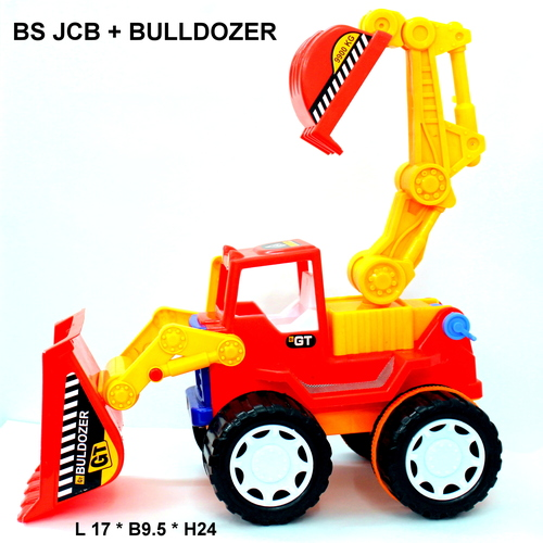 Builder Series Jcb + Bulldozer