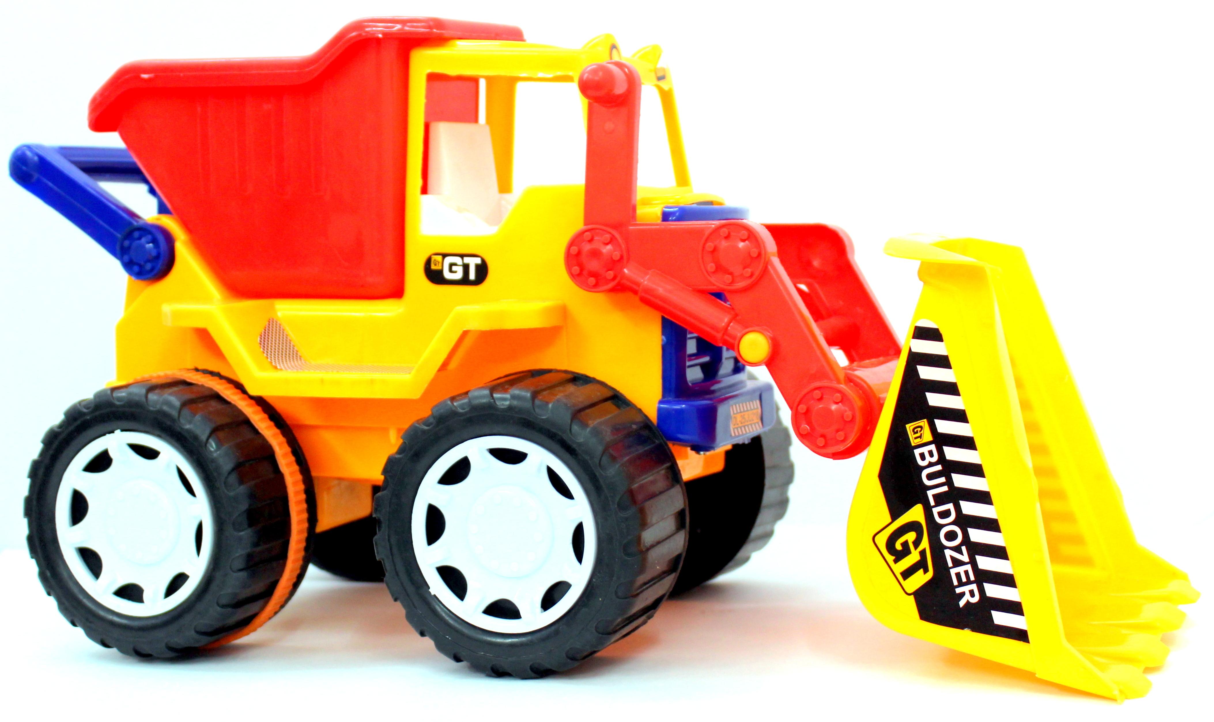 Builder Series Bulldozer + Dumper