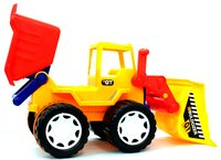 Builder Series Bulldozer + Dumper
