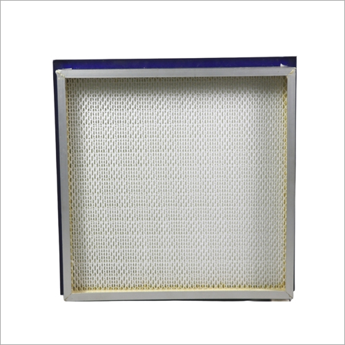 Gel Type Mini Pleat Hepa Filter