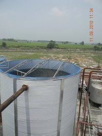 Galvanized Steel Water Storage Tanks