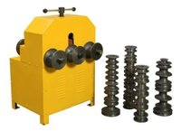 pipe roller bending machine round and square for size 16 mm to  76mm