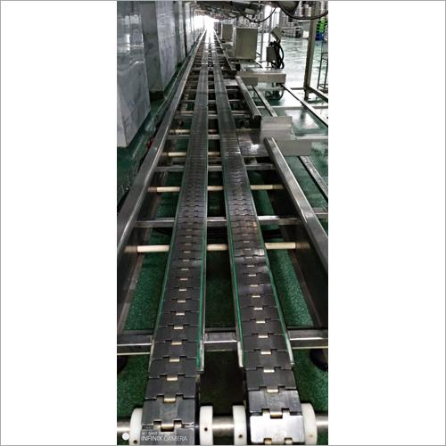 Industrial Slat Chain Conveyor