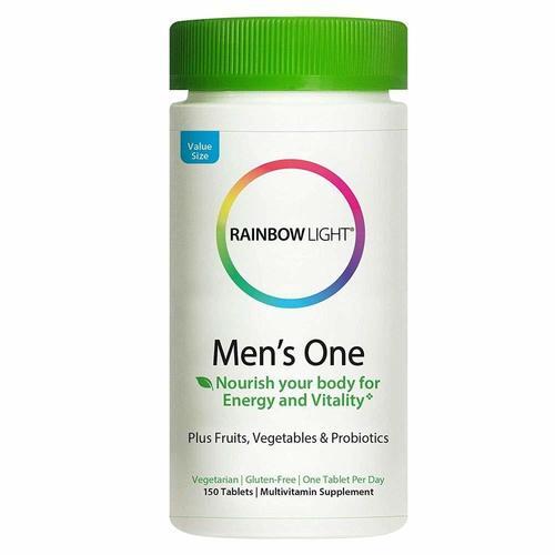 Rainbow Light Mens One Multivitamin 150 Tabs