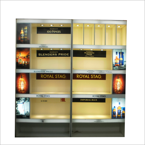 Alcohol Display Rack