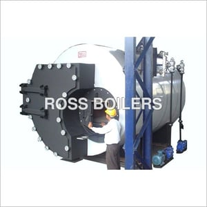 RSW-Solid Fuel Fired 3 Pass Shell Type Flue Tube Steam Boilers