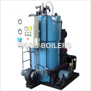 RSB-3 Pass Water Tube Coil Type Steam Boilers