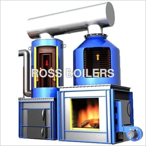 DELTA-4 Pass Solid Fuel Fired Thermic Fluid Heaters