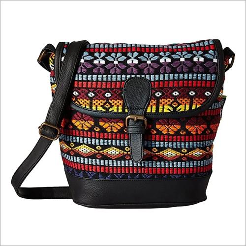 Designer Jacquard Bag