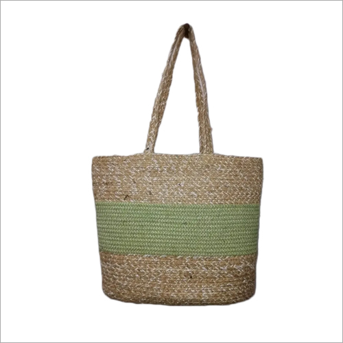 Braided Jute Shopping Bag