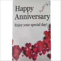 Happy Anniversary Musical Greeting Card