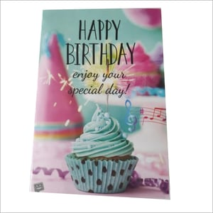 Musical Singing Recordable Voice Greeting Card Happy Birthday To You