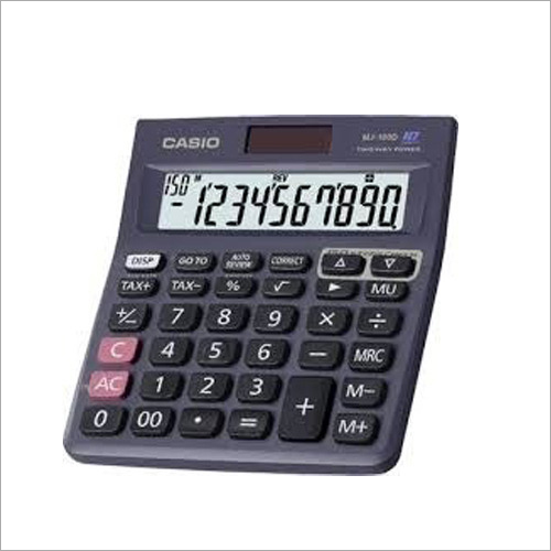 Electronic Casio Basic Calculators