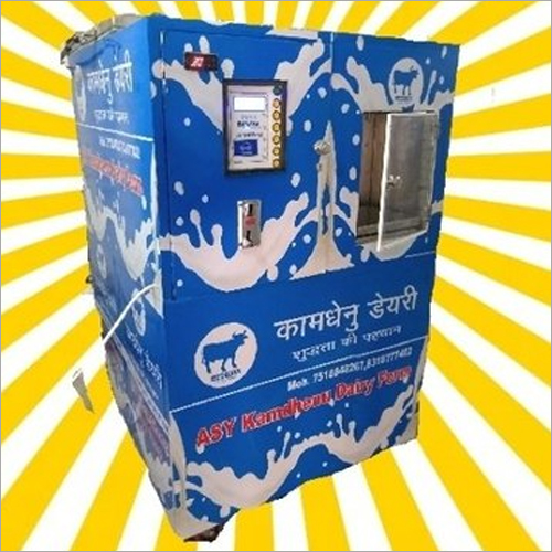 300 Ltr Milk Stainless Steel Vending Machine