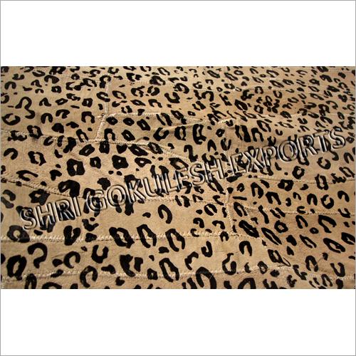 Designer Print Leather Carpets