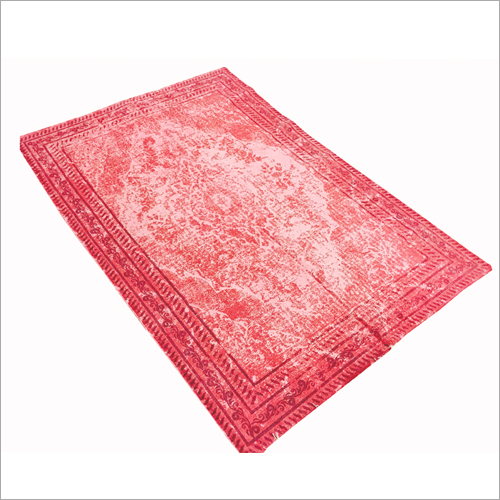 Pure Cotton Printed Stone Washed Rugs