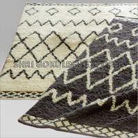 Wool Shaggy Floor Rugs