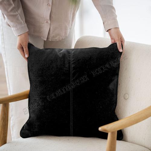Black Velvet Cushion And Pillows