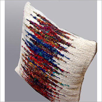 Designer Sari Silk Cushion And Pillows