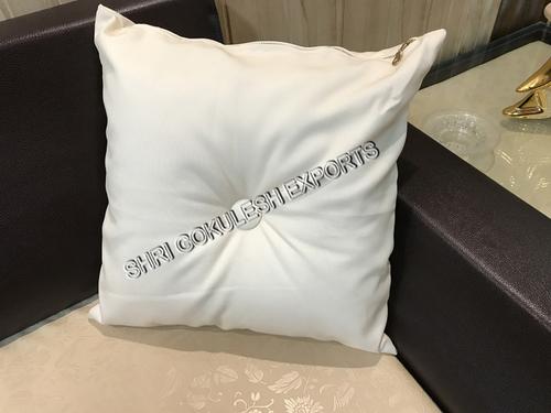 White Cushion And Pillows