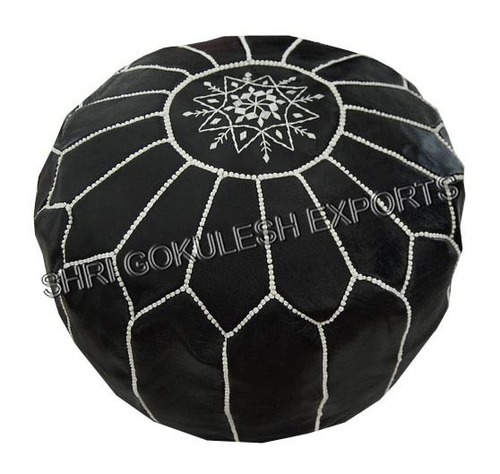 Decorative Morrocan Poufs And Ottoman