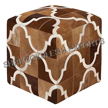Customized Designer Poufs And Ottoman