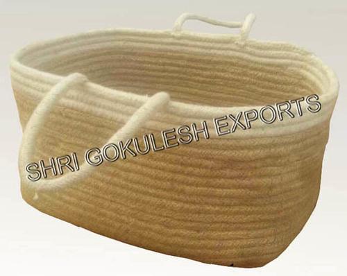 Decorative Jute Basket