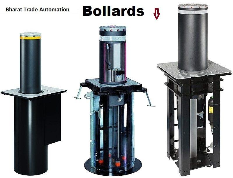 Automatic Rising Hydraulic Bollard
