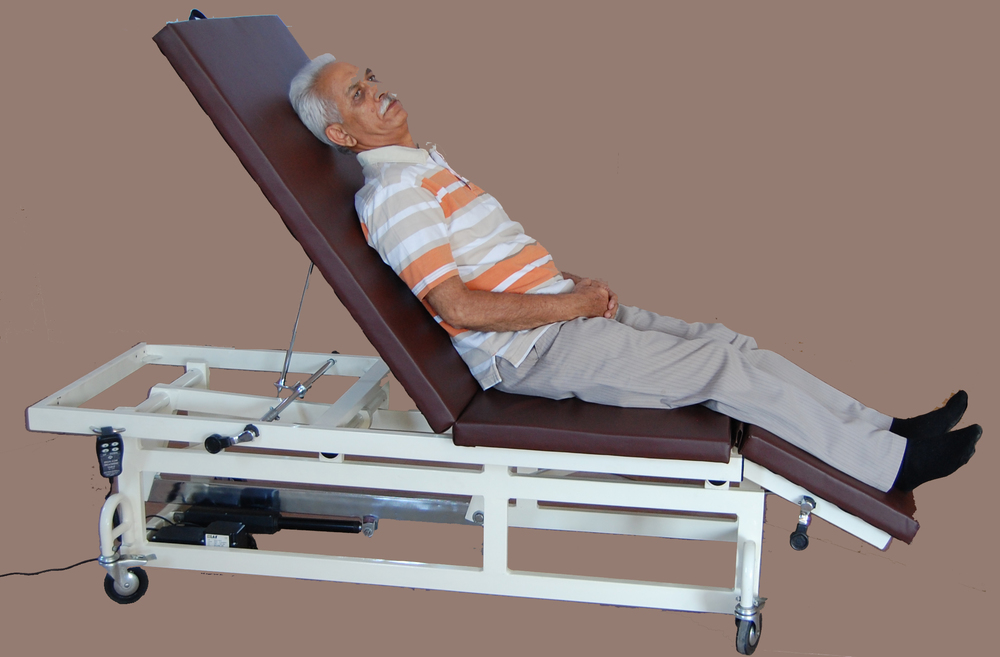 IMI-3116 High-low Treatment Table, 3 Section (Electrical with Retractable Casters)
