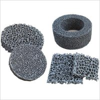 High Thermal Shock Resistance Silicon Carbide Ceramic Foam Filter