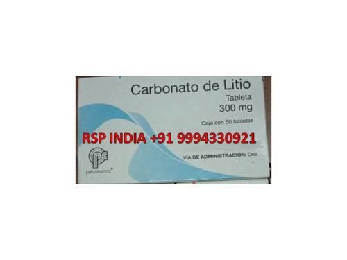Carbonato De Litio 300mg Tablet