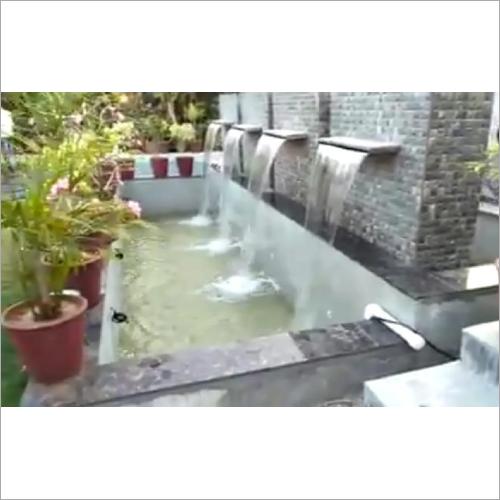Water Sheet Outdoor Fontain