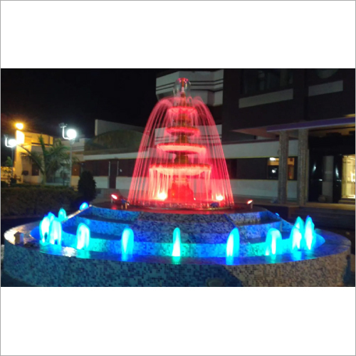 Ring Outdoor Lights Fountain