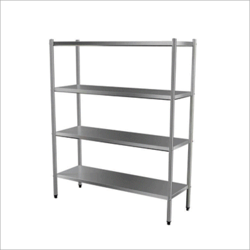 4 Tier Stainless Steel Rack