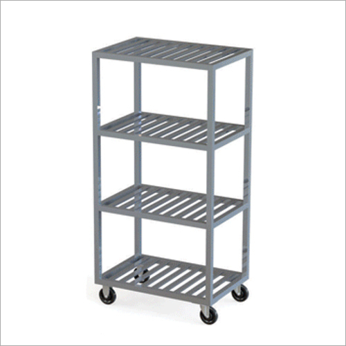 Portable Stainless Steel Rack Trolley