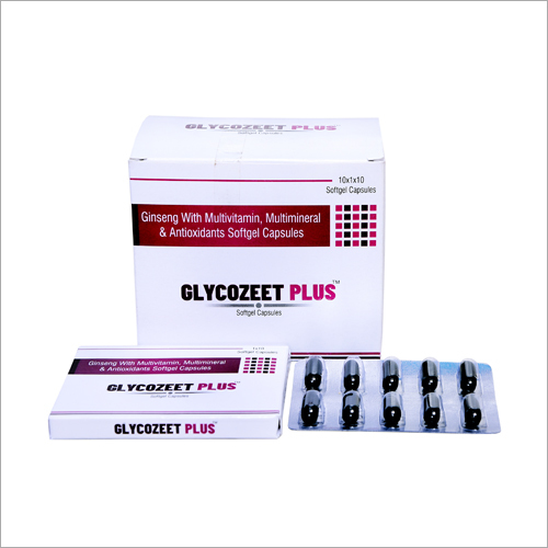 Ginseng With Multivitamin Multimineral And Antioxidants Softgel Capsules