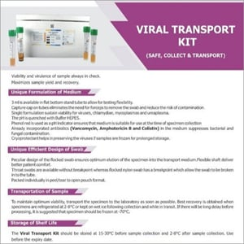 Viral Transport Kits