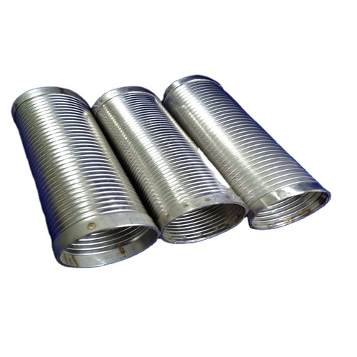 Stainless steel Interlock Metal Hose Engine Exhaust Hose